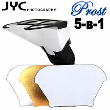 5 in 1 Gold/Silver/white Flash Diffuser Softbox Reflector UK Seller