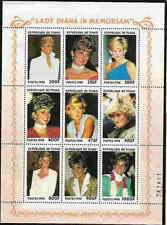 PRINCESS DIANA - CHAD  - MEMORIAL STAMP SHEET