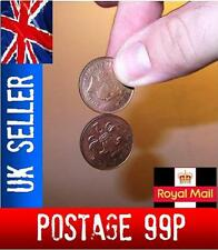 Spinning Coin.  close up magic trick-easy