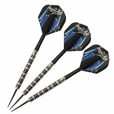 Target Phil Taylor POWER 8zero NERO TITANIO Freccette Set, > 24g 90% tungsteno BAR