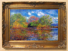 Claude Monet The Seine near Giverny Oil Painting repro size 36''x48''