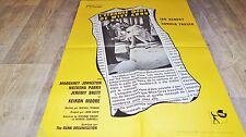 L'ETRANGE MORT DE MISS GRAY !  affiche cinema 1964