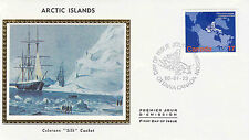 Canada FDC Sc # 865 Arctic Islands with Colorano cachet- WW 7300