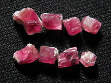 Lot of Red Emerald Red Beryl or Bixbite Crystals Wah Wah Mountains Utah 6.80ct