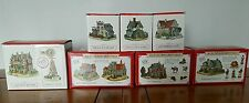 ( 8)  Miniature Village Buildings The Liberty Falls Americana Collection 1997-98