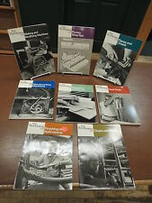 8 Book Set; Fine Woodworking Reference Taunton Press How-to Do it Yourself Guide