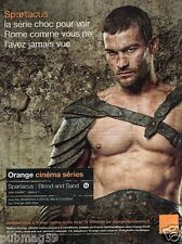 Publicité advertising 2010 Spartacus sur TV Orange