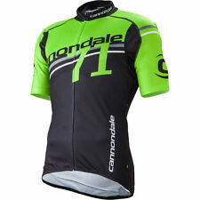 Cannondale Fitted Team 71 Jersey BZR XL Large Green Black Mens Cycling Jersey MT