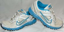 Womens Aqua & White NIKE DUAL FUSION ST Athletic Sneakers Shoes Sz 5.5
