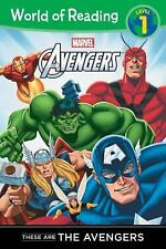 These are The Avengers Level 1 Reader (World of Reading), Disney Book Group, Goo