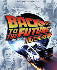 BACK TO THE FUTURE- TRILOGY (Blu-Ray Discs-4 Disc Set)  BRAND NEW!  (FREE SHIP!)