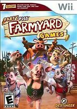 Nintendo Wii Party Pigs Farmyard Games VideoGames