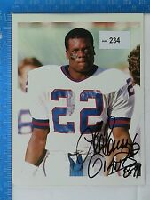 Lee Rouson Original Autographed Color Photo - NFL Special Teams Player of Year