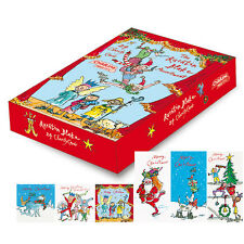 Box of 24 Quentin Blake Childline Charity Christmas Cards 6 Card Designs Per Box