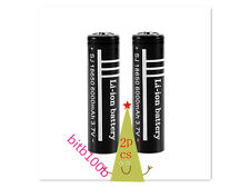 2PCS High Quality 3.7V 6000mAh 18650 Li-ion Rechargeable Battery for Flashlight