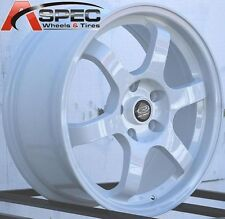 17X7.5 ROTA GRID WHEELS 5X114.3 RIMS ET45MM FITS 5 LUG HONDA CIVIC 2006-2012