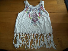 WOMENS SUMMER TASSLE TOP FROM ATMOSPHERE - SIZE 6!