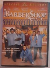 BARBERSHOP DVD DISC AND CASE IN GREAT SHAPE USED ONCE THEN NEVER TOUCHED AGAIN