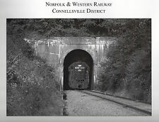 NORFOLK & WESTERN Railway Connellsville District: Alphabet Route, 1979-1990, NEW
