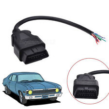 16 Pin Male Extension Connector Extender Opening OBD-II OBD 2 Cable Diagnostic