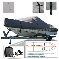 K2 MARINE Frontier 210 Center Console Trailerable Fishing Boat Cover Grey
