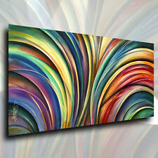 Modern Abstract Art  Michael Lang CONTEMPORARY Painting Giclee Canvas Print Deco
