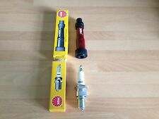 HONDA XL600 RD-RE/LMF 84-87 SLR650 V-W 96-99 NGK SPARK PLUG AND CAP FREE POST!