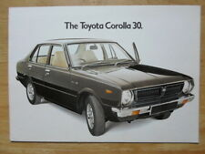 TOYOTA COROLLA 30 1975 UK Mkt Sales Brochure