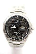 CASIO EFE-301SB-9A Edifice Solar Powered Gray 3subdial Stainless Steel Band