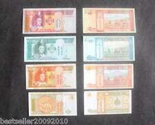 MONGOLIA SET OF 4 UNC NOTES 1,5,10 AND 20  GOING CHEAP ON EBAY LIMTED OFFER