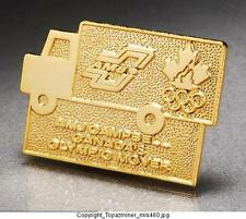 OLYMPIC PINS UNKNOWN GAMES CANADA NOC AMJ CAMPBELL