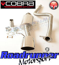 "Cobra Sport Leon Cupra MK1 1.8T 180 Exhaust System 2.5"" Cat Back Non Resonated"