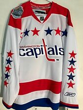 Reebok Premier NHL Jersey Washington Capitals Team White Winter Classic sz M