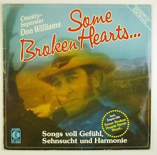 "12"" LP - Don Williams  - Some Broken Hearts... - B1013 - washed & cleaned"