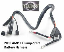 Eklipes 2000 Cranking AMP Universal Jumper Harness Cable Scooter Moped Tomos NEW