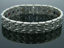 MEN'S TITANIUM SUPER STRONG BIO MAGNETIC HEALING BRACELET  MS511