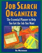 Job Search Organizer by Hal Weatherman (1997, Paperback)
