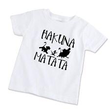 Youth Kids T-Shirt Tee Hakuna Matata Lion King Simba Silhouette Timon Pumba