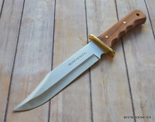 14 INCH OVERALL WINCHESTER BIG BOWIE HUNTING FIXED BLADE KNIFE WITH SHEATH