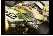 JIM CLARK 1965 INDY 500 COLIN CARTER LOTUS FORD F1 COLIN CARTER