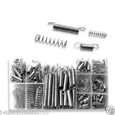 BOX OF SMALL METAL BULK LOOSE STEEL COILED SPRINGS ASSORTMENT KIT