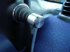Smart fortwo 450 / 2 Alu-Kappen Spiegelverstellung gebürstet mit poliertem Rand