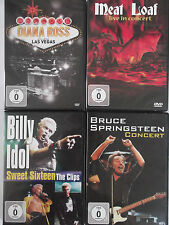 Musik Rock Sammlung - Bruce Springsteen, BIlly Idol, Meat Loaf, Diana Ross Vegas