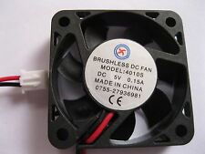 1 pcs Brushless DC Cooling Fan 4010S 7 Blade 5V 2 Wire 40x40x10mm