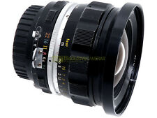 Nikon Nikkor UD 20mm. f3,5 con modifica AI. Compatibile con digitali.