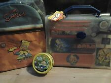 Simpsons Set Backpack, Stationery, Colour Putty Original Unopened Packaging