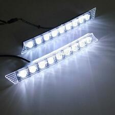 9 LED Coche DRL Lámpara Luz Diurna Indicador Luces For Audi A6 2005-2008 BMW E90