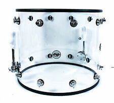"DW Design Series Acrylic Shell Bass Drum 22 x 18"" , NEW-NO TENSION RODS OR CLAWS"