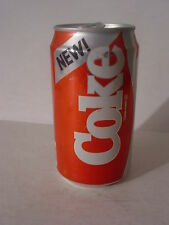"1985 ""NEW!"" 12oz. 354ml. COKE CAN ( CLEVELAND,TENNESSE ) TOP OPENED"