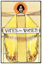 Votes for Women Poster, Women's Suffrage Movement, Equal Rights, Equality